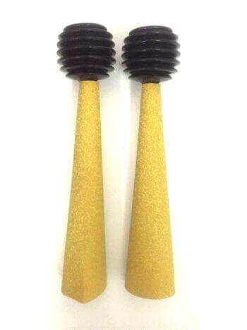 Golden Squeeze Horns - 2PC-0