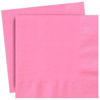 Light Pink Paper Napkins - 20PC-0
