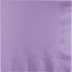Luscious Lavender Lunch Napkins - 50PC-0