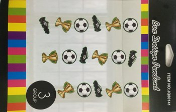 Soccer Hanging Decoration - 3PC-0