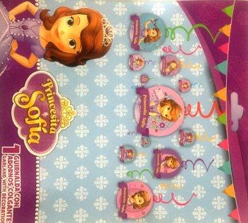 Princess Sofia Swirl Decoration - 12PC-0