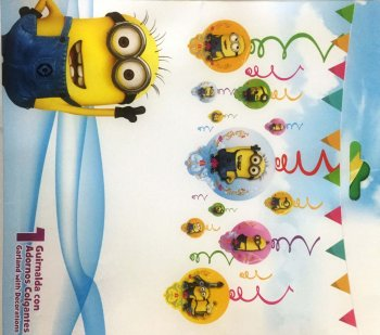 Minions Swirl Decoration - 12PC-0