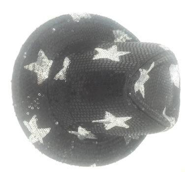 Neon Sequin Star Hat-0