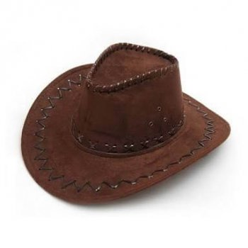 Brown Cowboy Hat-0