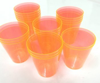 Shot Glasses Orange - 20PC-0