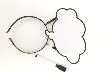 Customize WhiteBoard Headband-0