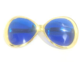 Retro Shape Jumbo Metallic Shades-0