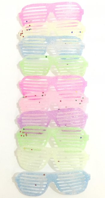 Neon Glitter Favor Shades - 12PC-0
