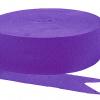 Purple Streamers - 4PC-0