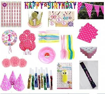 1st Birthday Girl-Party On Demand Package-0