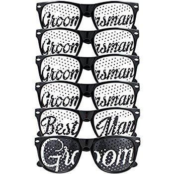 Groomsmen Glasses - 6PC-0