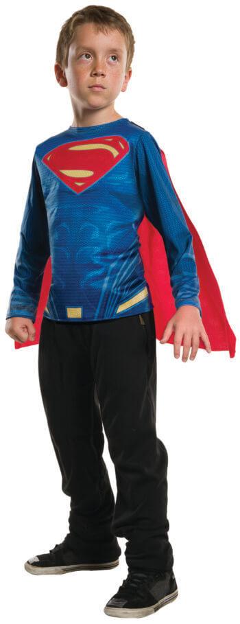 Kids Superman Costume Top-0