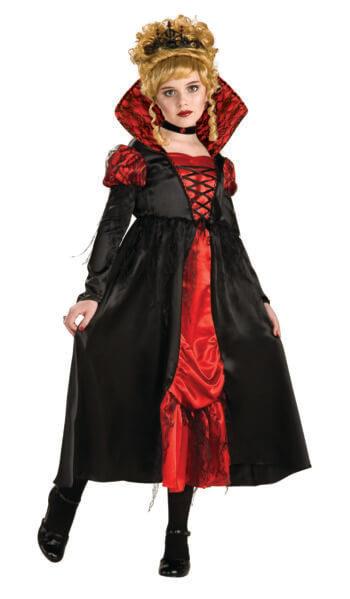 Kids Vampiress Costume-0
