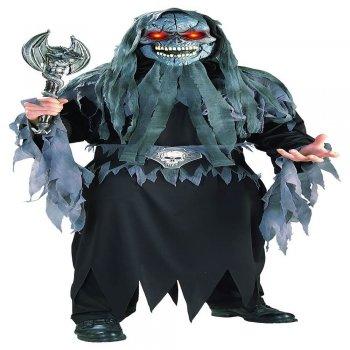Fading Eyes Adult Evil Eye Skull Costume-0