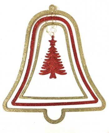 3D Large Bell Hangings - 1 PC-0