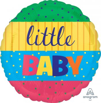 """Little Baby Stripes Balloons 18"""" S40-1PC-0"""
