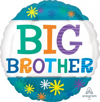 """Big Brother Balloons 18"""" S40-1PC-0"""