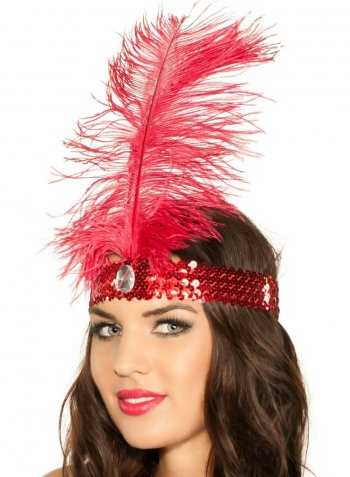 Retro Sequin Flapper - 1 PC-0
