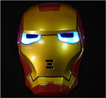 Iron Man Light Up Mask -0