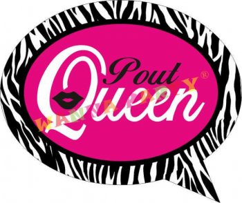 Pout Queen Photo Prop-0