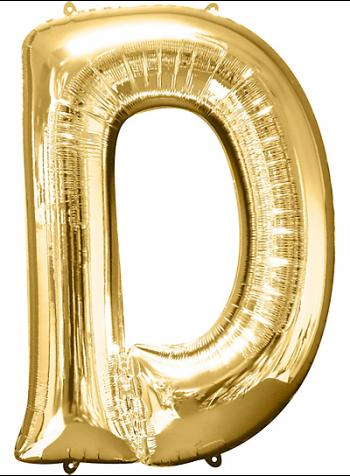 "40"" Alphabet D Balloons-0"