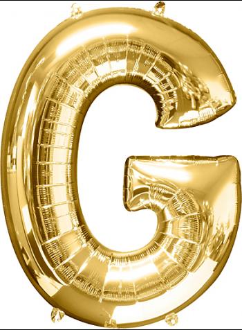 "40"" Alphabet G Balloons-0"