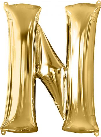 "40"" Alphabet N Balloons-0"