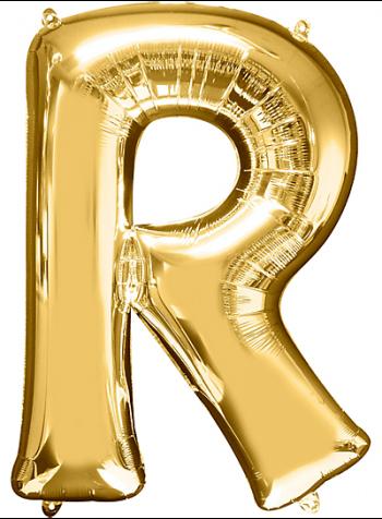 "40"" Alphabet R Balloons-0"