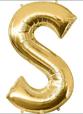 "40"" Alphabet S Balloons-0"