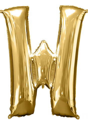 "40"" Alphabet W Balloons-0"