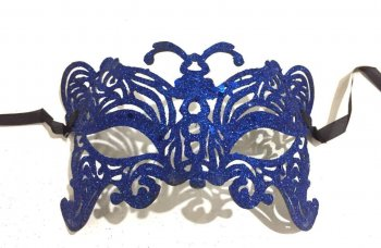 Glitter Butterfly Mask - 1PC-0