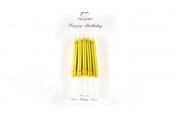 Glitter Candles - 10PC-0