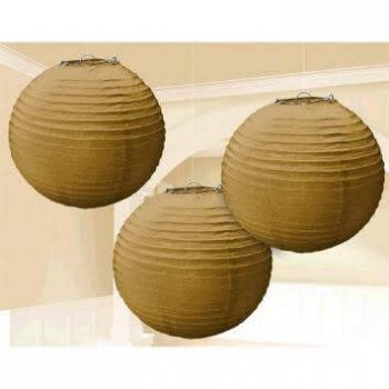 "Golden Lanterns 14"" - 1PC-0"