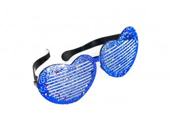 Heart Glitter Giant Shades-12836