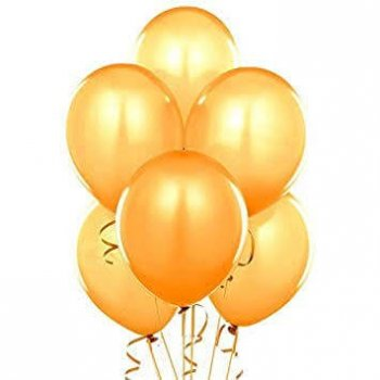"12"" Metallic Gold Balloons - 20PC-0"
