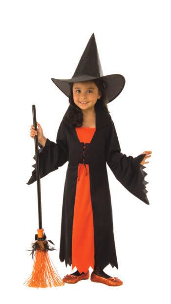 Kids Witch Costume Medium-0