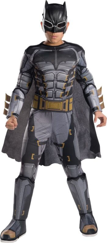 Kids Deluxe Tactical Batman Costume Small-0
