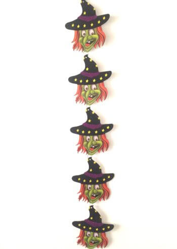 Witch Shimmery String Decoration - 4FT-0