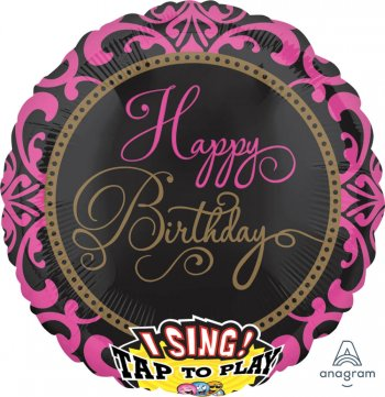 "Fabulous Birthday Singing Balloons 28"" P60-0"