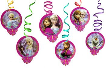 Frozen Swirl Decoration - 12PC-0
