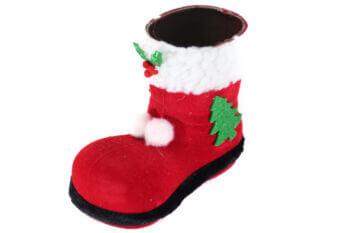 Santa Shoe Centerpiece Decoration-0