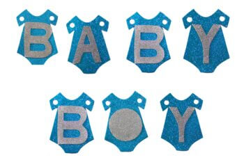 Baby Boy Banner - 6FT-0