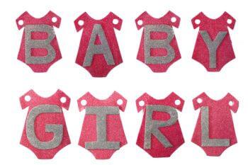 Baby Girl Banner - 6FT-0