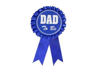 Daddy To Be Award Ribbon-0