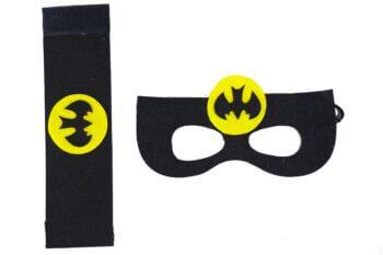 Batman Eye Mask & Wrist Band Set-0