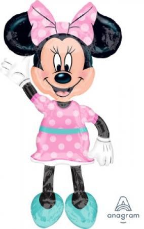 "Minnie Mouse Airwalker Balloons 54"" P80-0"