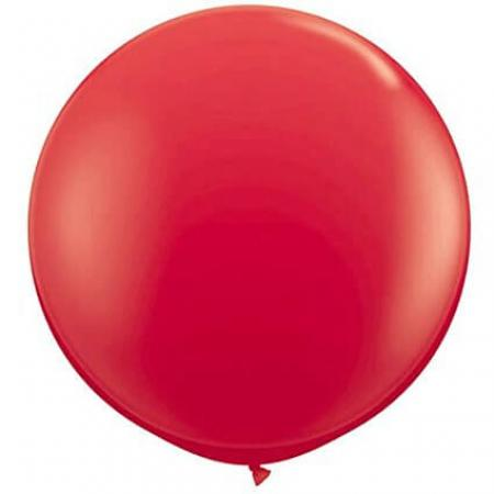"Red Bladder Balloons 36"" - 1PC-0"