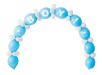 Baby Boy Linking Balloons DIY Kit - 64PC-12369