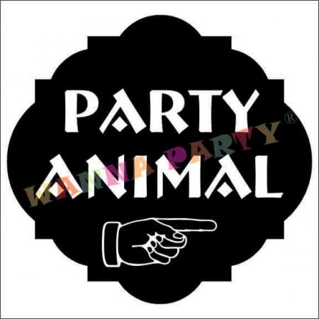 Party Animal Photo Prop-0