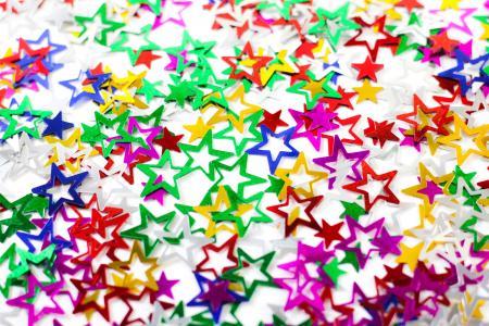 Star Shaped Cofetti-0